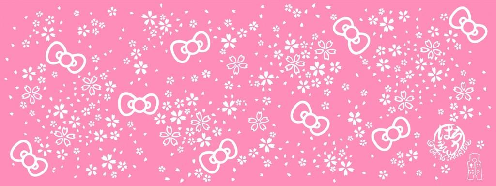 キティちゃん桜